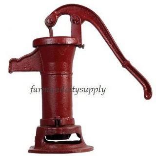 PP2 17 1/2 TALL PITCHER PUMP 3 CYLINDER HAND WATER PUMP NEW