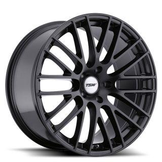 18x10 TSW Max Matte Black Wheel/Rim(s) 5x114.3 5 114.3 5x4.5 18 10