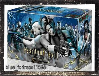 RESIDENT EVIL DECK BUILDING CARD GAME ALLIANCE EDITION