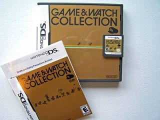 MINT! GAME & WATCH COLLECTION 1 DS DSi LITE XL AND 3DS N DONKEY KONG+