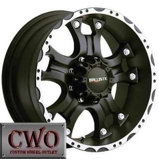 18 Black Ballistic Hostel Wheels Rim 5x127 5 Lug Jeep Wrangler GMC
