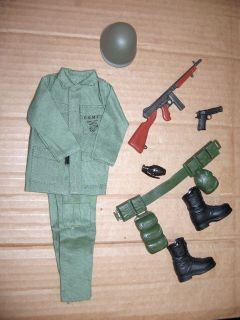 Soldiers of the World WWII marine clothes n weapons for 1/6 12in