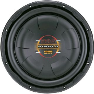 NEW BOSS AUDIO D12F D47599 12 LOW PROFILE SUBWOOFER, POLY INJECTION