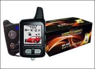 CRIME STOPPER SP 301 2 WAY REMOTE CAR ALARM SECURITY SYSTEM