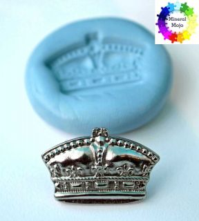 New Crown Silicone Mould for Fimo clay, Sugarcraf, Cupcake,Cake