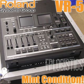 by Roland VR 5 AV Mixer and Recorder VR5 5 Channel Video Switcher MINT