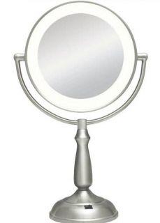 Zadro 10X & 1X Ultra Bright LED Lighted Vanity Makeup Mirror