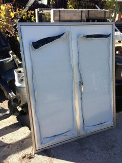 COMMERCIAL FORD CHEVY DODGE TRUCK BED BOX DOUBLE REAR ENTRY DOOR
