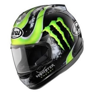 Arai Corsair V Crutchlow FREE Dark tint shield motorcycle helmet
