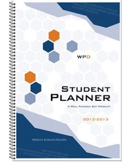 2013 Weekly Monthly Calendar Office Student Pocket Planner 6.5x3.5