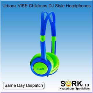 Urbanz Cool Colourful Childrens Kids Girls Boys DJ Style Headphones