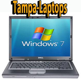 Dell Latitude D620 LAPTOP 2GB 80GB 1.66ghz WIN 7 WIRELESS WIFI CDRW