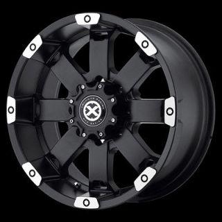 Black Wheels Rims Toyota Pickup Nissan Frontier Truck Hummer H3 6 Lug