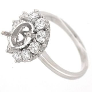 Diana Kate Middleton Inspired Diamond Engagment Ring Setting 1.10ct
