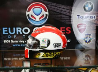NEW AGV GP Tech Marco Simoncelli MotoGP Replica Helmet