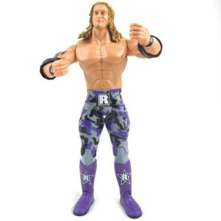 07ZQ New WWE WWF Wrestling Edge figure toy + belt