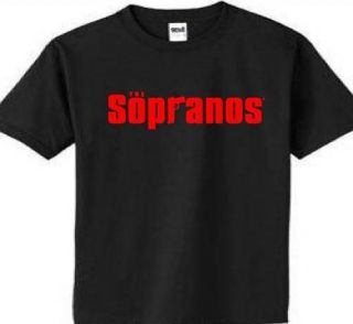 Sopranos HBO T shirt Tee Tony Jersey