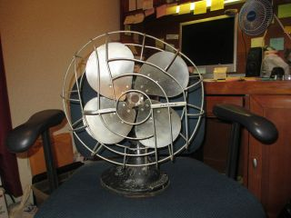 vintage 1940s hunter fan and ventilating company no.c1255 type c 12