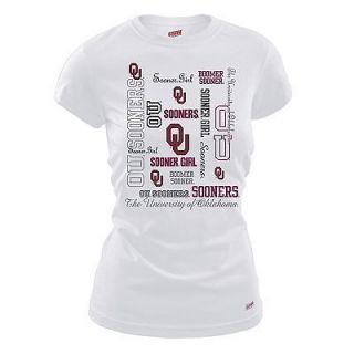 NWT OU SOONER GIRL Light Weight T SHIRT Oklahoma University NCAA