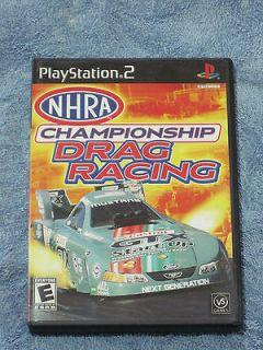 Newly listed NHRA Championship Drag Racing (Sony PlayStation 2, 2005)