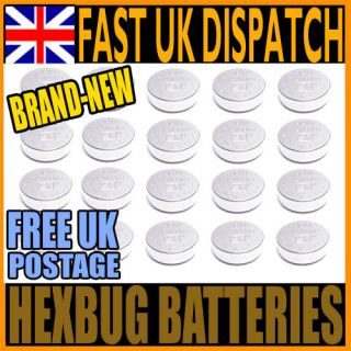 PACK OF REPLACEMENT BATTERIES FOR HEXBUG NANO, INCHWORM, CRAB HEX BUG