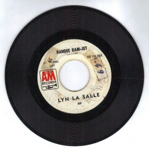SALLE Takin Life Easy / Randee Ram Jet A&M RECORD 45 Promo White Label