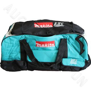 Makita Wheels & Handle Large Nylon Contractors LXT Power Tool Bag for