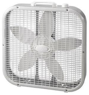 563733 Lasko Westpointe 20 Gray/White 3 Speed Box Fan
