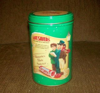 Limited Edition Life Savers Holiday Keepsake Tin 1990
