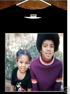 Michael Jackson thriller t shirt vtg tour 5 five janet stevie wonder