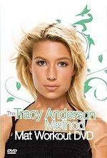 TRACY ANDERSON METHOD MAT WORKOUT NEW DVD FITNESS