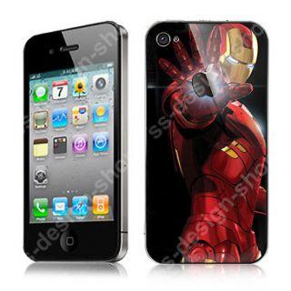 Iron Man War Machine Vinyl Decal Sticker Skin for Mac Apple iPhone 4