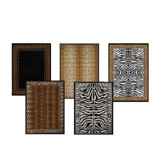 animal print rugs in Area Rugs