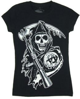 womens sons of anarchy shirt in Clothing,