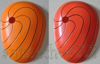 Tobi Uchiha Madara Akatsuki Masque Cosplay Halloween Mask 2 Colors