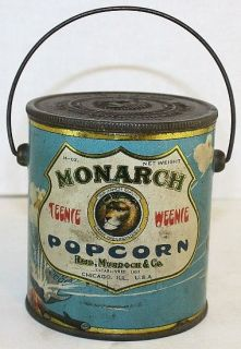 1927 Monarch Popcorn Chicago, ILL. Reid, Murdock & Co. Teenie Weenie