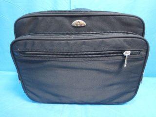 Samsonite Brief Case Wheeled 930695 With Laptop Bag Blk 8 Wheeled