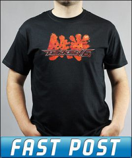 Tekken 6 PS3 Xbox 360 Black T Shirt Adults and Kids Sizes