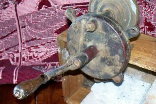 Antique MANUEL BENCH GRINDING WHEEL   OHIO KING, L.L.H. Co.