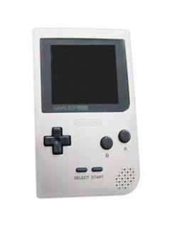 Nintendo Game Boy Pocket Silver Handheld System Only *USED*
