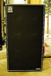 Ampeg SVT 810 Bass Guitar Enclosure Speaker Cabinet SVT 810 8x10 8 by
