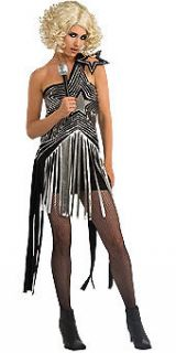 Womens Lady Gaga Dress Costume Classic Performance Outfit Style
