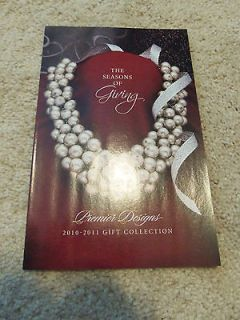 Premier Designs Jewelry 2010   2011 Christmas Catalog