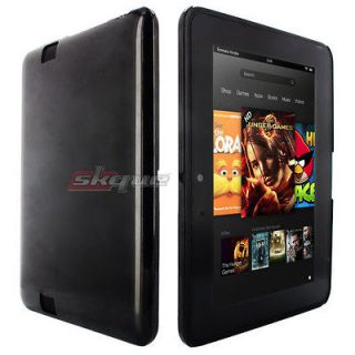 Premium Black Hard Back Case Cover For  Kindle Fire HD 7 7 Inch