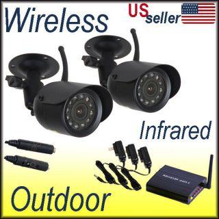 Wireless Security Camera Outdoor Audio Day Night Vision IR CCTV