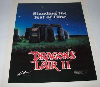 dragons lair arcade game in Video Arcade Machines
