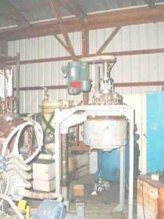 Gallon Stainless Steel Laboratory Reactor tank mixer