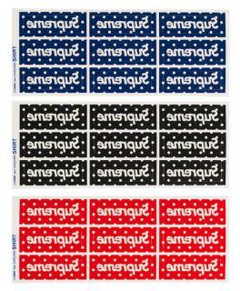 Comme Des Garcons Mini Box Logo Sticker (3 color)(camp cap hat tee