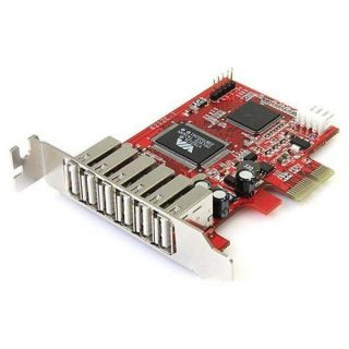 NEW StarTech 7 Port PCI Express Low Profile High Speed USB 2.0