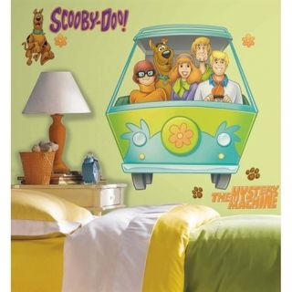 Warner Bros Scooby Doo Mystery Machine Giant Wall Decal Stickers31 x